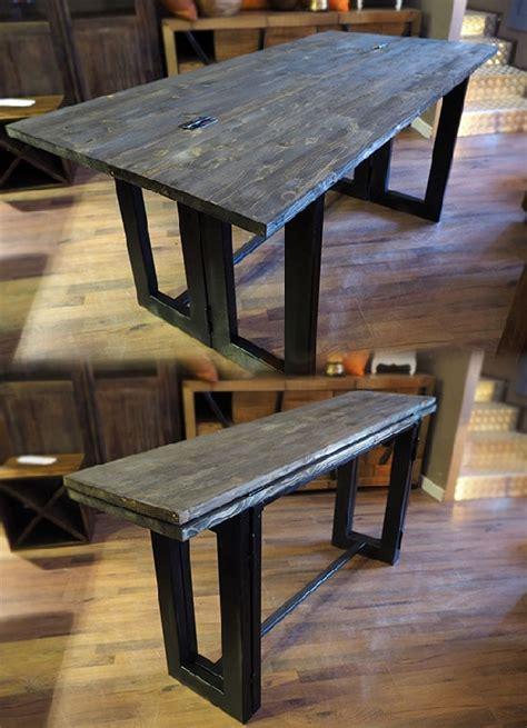 tavoli con ribalta tavolo consolle vintage etno ribalta cm 170 industrial