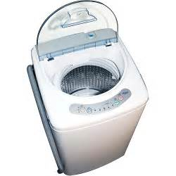 Apartment Clothes Dryer Haier 1 0 Cubic Foot Portable Washing Machine Walmart