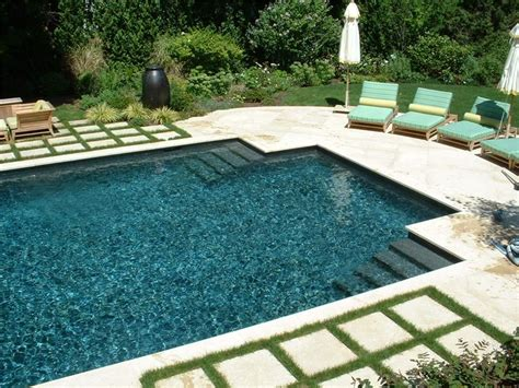 square swimming pool like the water color shape but would want ledge geometric