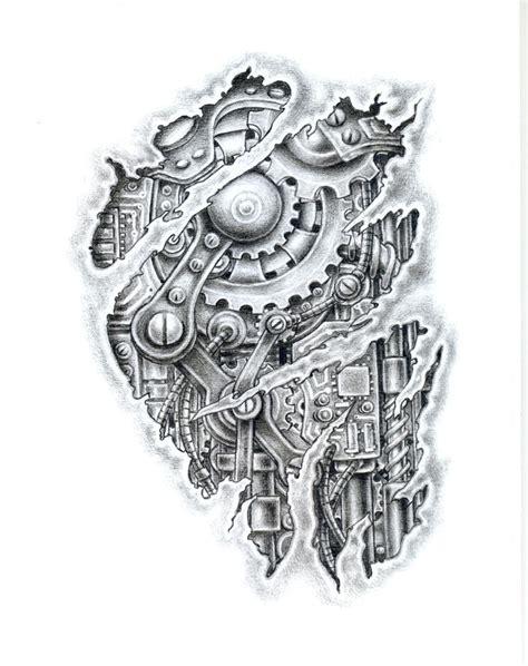 design tattoo biomechanical warna bio mechanical 176 biomechanic pinterest tattoo tatoo