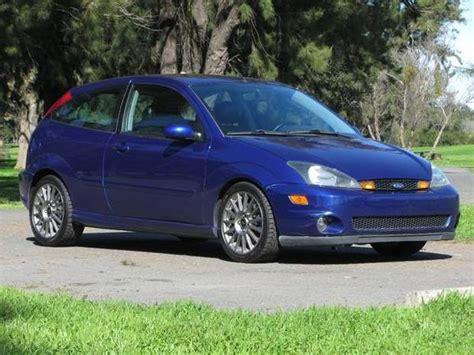 2002 ford focus svt sonic blue 2002 ford focus svt bring a trailer