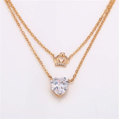 Kalung Gold Warna 3 xuping sj1050 kalung 18k gold plated elevenia