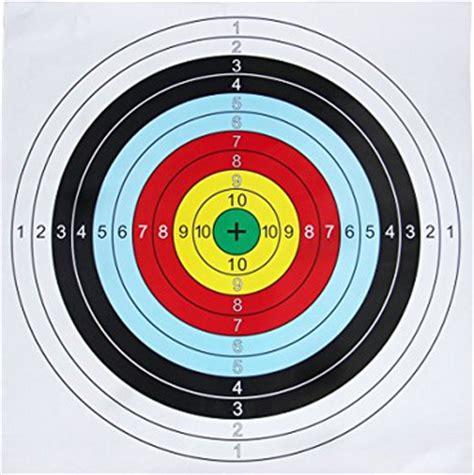 Sasaran Tembak Shooting Target Paper Circle 60 60