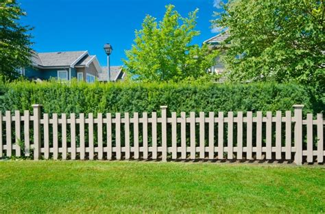 country fence styles fence styles and designs for backyard front yard images