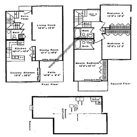 8 Gladstone Floor Plans by John Dewey Model In The New Century Town Subdivision In