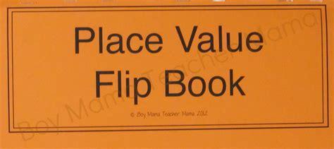 A Place Novel Place Value Practice With A Flip Boy