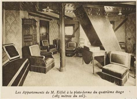 Apartment At The Top Of The Eiffel Tower | interesting facts about the eiffel tower just fun facts