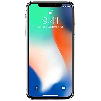 amazon iphone x amazon com apple iphone x fully unlocked 5 8 quot 64 gb