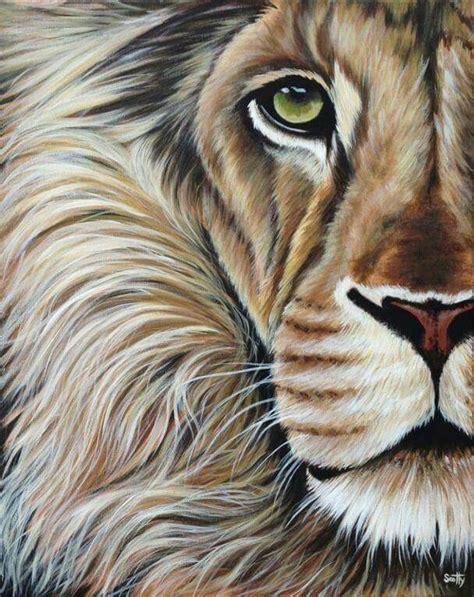 watercolor lion tutorial the king leo all magickal art pinterest lions