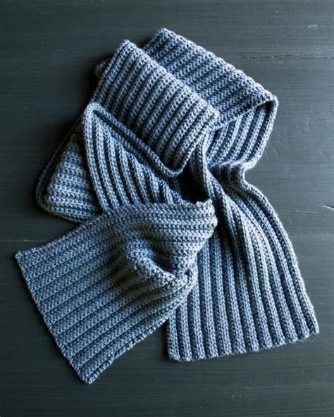 knitted ribbed scarf pattern no purl ribbed scarf purl soho