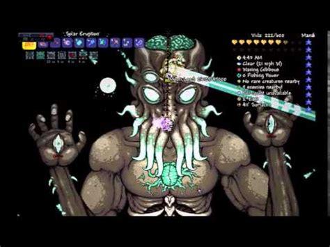 imagenes realistas de terraria terraria 1 3 jefe final moon lord primera vez youtube