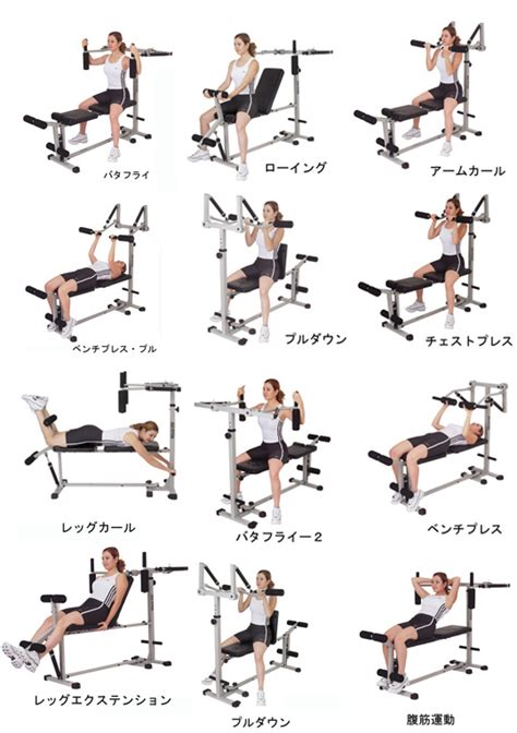 chest press exercise at home www pixshark images