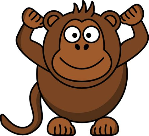 clipart monkey monkey clip at clker vector clip
