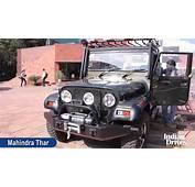 2012 Mahindra Thar A/C First Look Video  YouTube