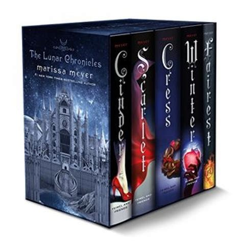 the lunar chronicles boxed set cinder scarlet cress fairest winter