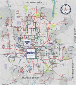 Maps Columbus Ohio by Cota Updates System Map Still Needs Work Xing Columbus
