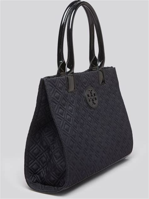 Burch Quilted by Burch Tote Mini Ella Quilted In Blue Violet Blue Lyst