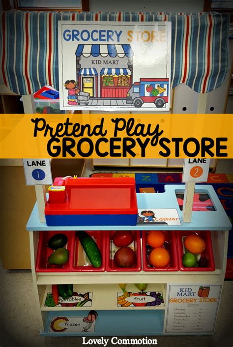 themes for grocery store easily create a pretend grocery store in your classroom