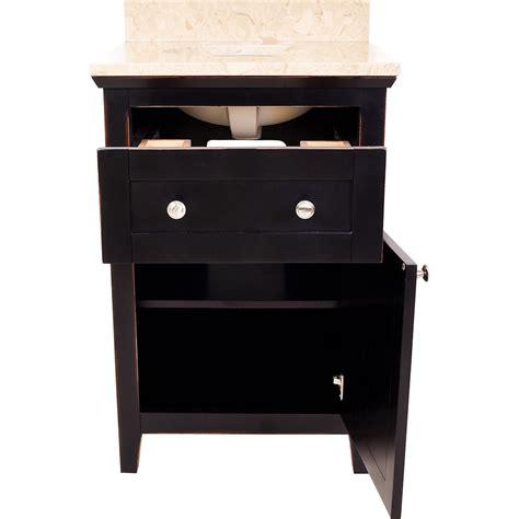 Jeffrey Alexander Kitchen Island by Hardware Resources Shop Van093 24 Vanity Aged Black