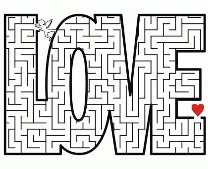 printable art mazes free printable valentine maze dollar store mom
