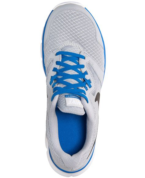 Sepatu Nike Original Flex Experience Grey lyst nike s flex experience run 3 wide running sneakers from finish line in gray for