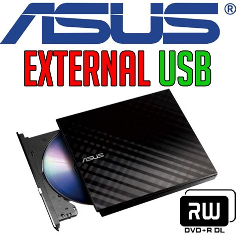 External Slim Dvd Rw Drive Optical Drives Asus 8x Sdrw 08d2s asus sdrw 08d2s u lite dvd 177 rw external optical drive