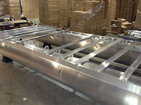 pontoon boat aluminum edging how to build a pontoon boat from scratch row boat for