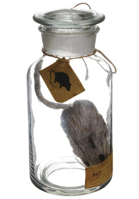 mouse for glass glass bottle w mouse