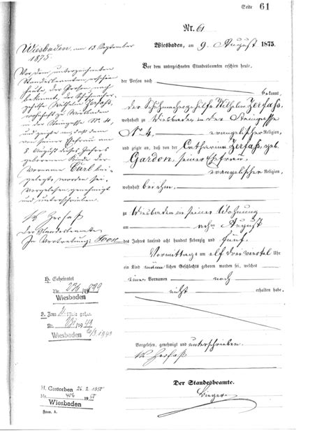 Darmstadt Hessen Germany Birth Records Capital Genealogy