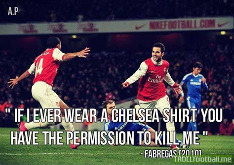 T Shirt Cesc Fabregas Chelsea cesc fabregas in 2010 if i wear a chelsea shirt you