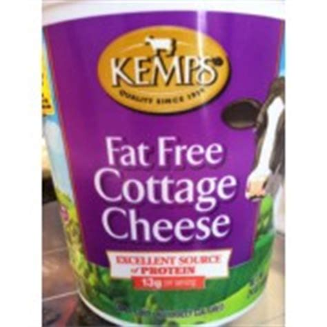 Calories In Free Cottage Cheese by Kemps Cottage Cheese Free Calories Nutrition