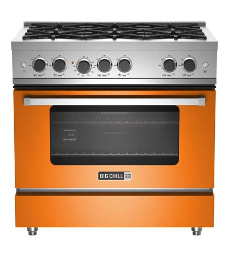 What Is A Cooktop Stove modern 36 inch pro stove range with oven big chill