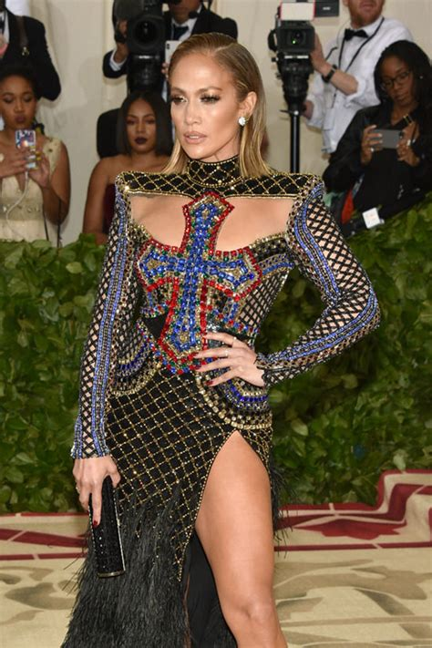 Jlos Armload Of Bangles Are So Sexyso She Wears Em A Lot by Met Gala 2018 Serves Crusade Realness