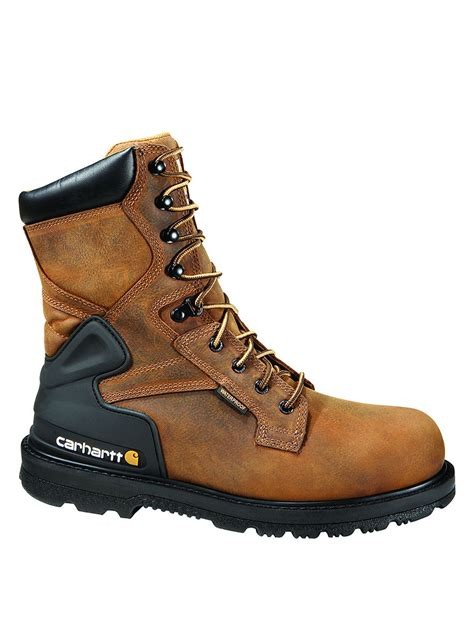 carhartt steel toe work boots carhartt 174 8 quot steel toe work boots stage stores
