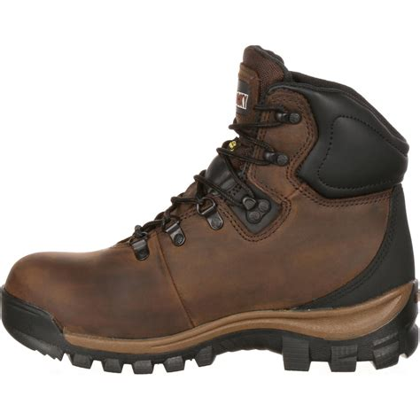 womans steel toe boots rk035 rocky s steel toe waterproof hiker work boot