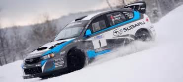 Subaru Racing Driving Subaru S Wrx Sti Rally Car Will Melt Every Part Of