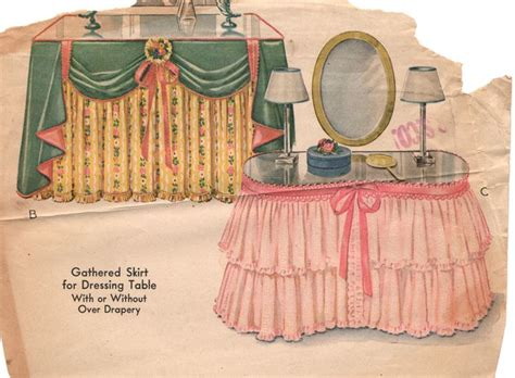 how to a dressing table skirt 1000 images about dressing table skirts on