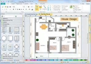 Home Floor Plan Design Software Free Download by Easy House Design Software