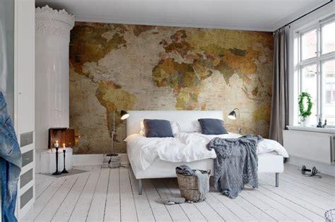 Wallpaper Shabby Chic Wallpaper Murah Wallpaper Ukuran 45x500 Cm 14 mendekorasi dinding dengan peta mau rooang
