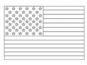 print amp download american flag coloring sheet kindergarten