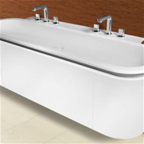 rounded corner bathroom vanity versatile vanity from sonia nice rounded corners