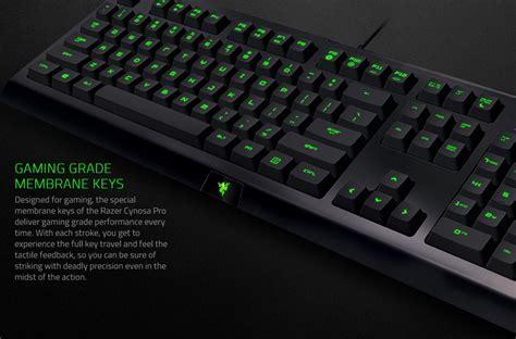 Razer Cynosa Pro Bundle Razer Deathadder Keyboard Mouse Gaming razer cynosa pro deathadder bundle tri colour lightning