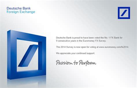 fx bank deutsche bank fx