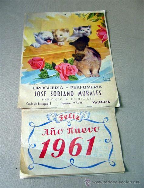 Calendario De 1961 Calendario 1961 Espa 241 A Images
