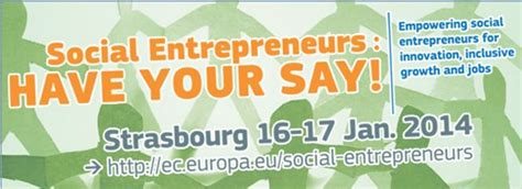Mba Social Entrepreneurship Europe by Social Entrepreneurs Your Say An Interactive Event
