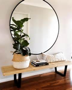 Round Table Mirrors 18 Entryways With Captivating Mirrors