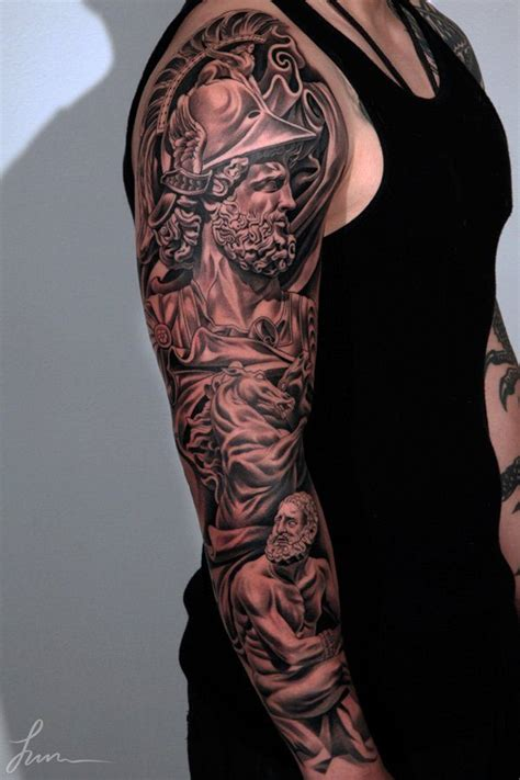 83 alluring half and full sleeve tattoos