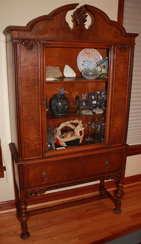 I have an antique china cabinet I bought about 18 years ago