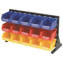 Organization Storage Bins 15 Bin Storage Rack
