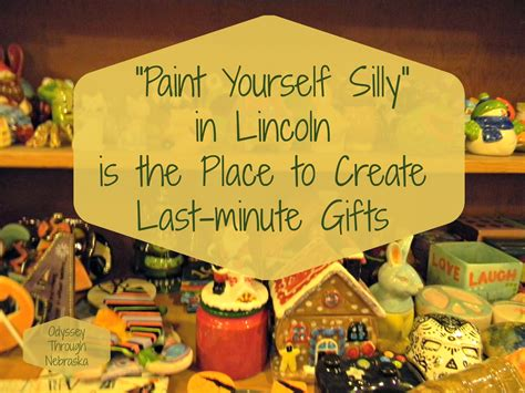 paint yourself paint yourself silly for creating last minute gifts